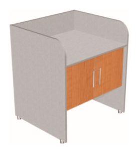 Стол пеленальный 2-х дверный